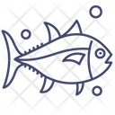 Fish Salmon Seafood Icon