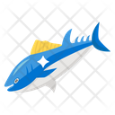 Tuna Fish Aquatic Creature Seafood Icon