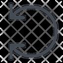 Tune Twist Arrow Icon