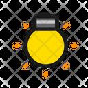 Tungsten Tone Brightness Icon