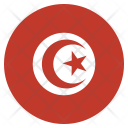 Tunisia National Country Icon