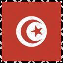 Tunisia National Country Icon