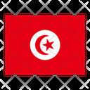 Tunisia Flag Flags Icon