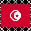 Tunisia Country National Icon