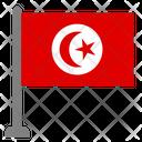 Flag Country Tunisia Icon