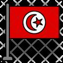 Tunisia Country Flag Flag Icon