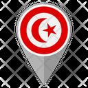 Tunisia Country Location Location Icon