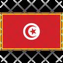 Tunisia Flag Country Icon