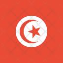 Tunisia Flag World Icon