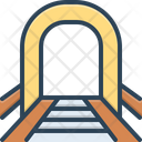 Tunnel Road Subway Icon