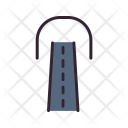 Tunnel Sign Icon