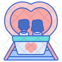 Tunnel Of Love Turnnel Couple Icon
