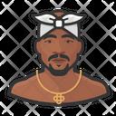 Tupac Rapper Icon