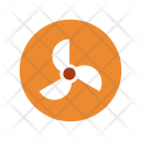 Turbine Fan Wind Icon