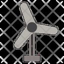 Turbine Ecology Wind Icon