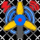 Turbine Power Electric Icon