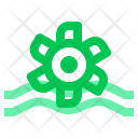 Turbine Energy Water Icon