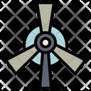 Turbine Ecology Energy Icon
