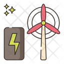 Turbine Energy Icon