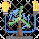 Turbine Energy Turbin Wind Energy Icon