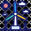 Turbine Energy Icon
