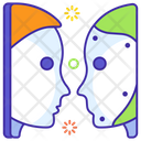 Turing Test Artificial Intelligence Robots Icon