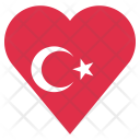 Turkey Flag Country Icon