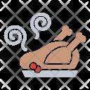 Turkey Chicken Dinner Icon
