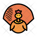 Thanksgiving Bird Poultry Icon