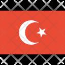 Turkey Flag World Icon