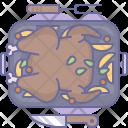 Turkey Baked Chicken Icon