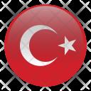 Turkey Country Flag Icon