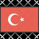 Turkey Turkish Asian Icon