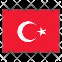 Turkey Flag Flags Icon
