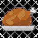Turkey Roasted Chicken Chicken Icon