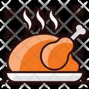 Turkey Grilled Steak Grilled Meat Icon