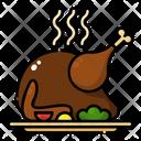 Turkey Thanksgiving Autumn Icon