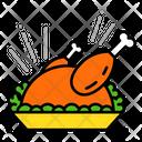 Turkey Food Meal Icon