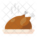 Roasted Chicken Chicken Grilled Food Icon