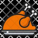 Turkey Chicken Food Icon