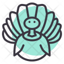 Turkey Thanksgiving Poultry Icon