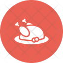 Turkey Hen Meat Icon