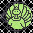 Turkey Thanksgiving Bird Icon