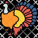 Turkey Bird Thanksgiving Icon