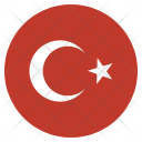 Turkey National Country Icon
