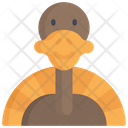 Turkey Character Icon