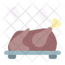 Turkey Chicken Roast Icon