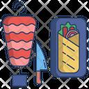 Turkish Doner Kebab Icon
