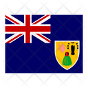 Turks And Caicos Islands Flag Flags Icon