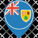 Turks Caicos Islands Icon